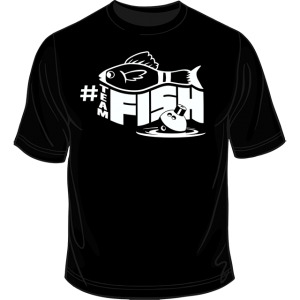 Black #teamFish Shirt